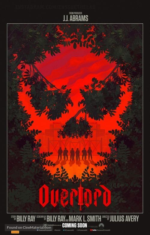 Overlord - Australian Movie Poster