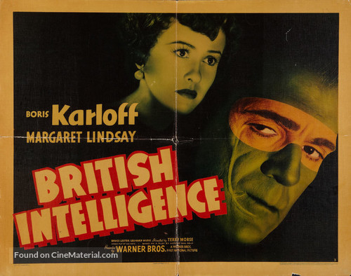 British Intelligence - Movie Poster