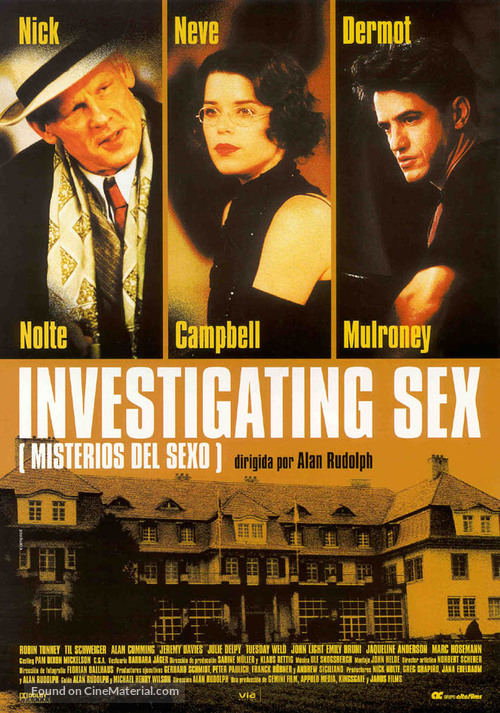 Investigating Sex - Spanish Movie Poster
