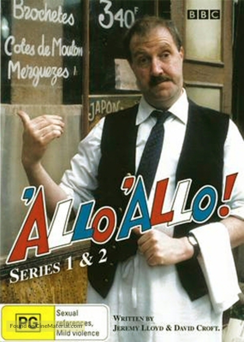 """""""'Allo 'Allo!"""" - Australian DVD cover"""