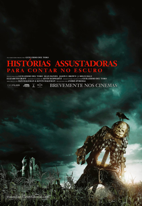 Scary Stories to Tell in the Dark - Portuguese Movie Poster