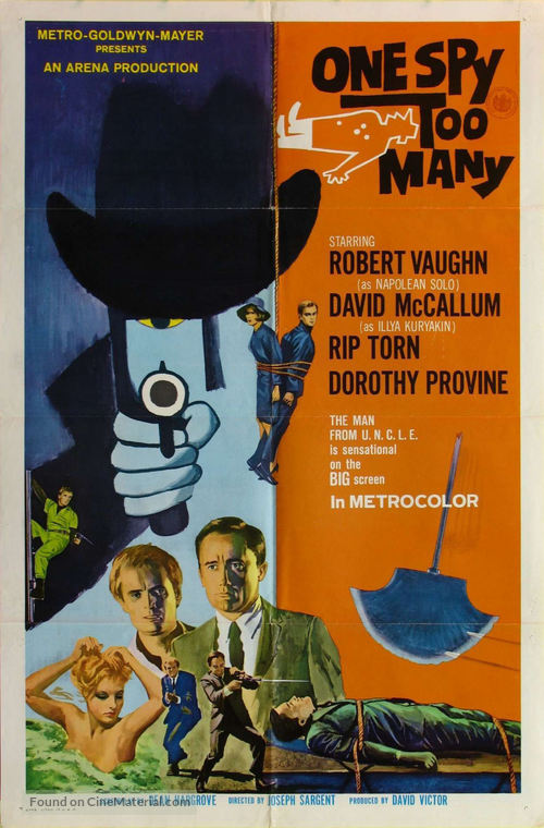 One Spy Too Many - Movie Poster