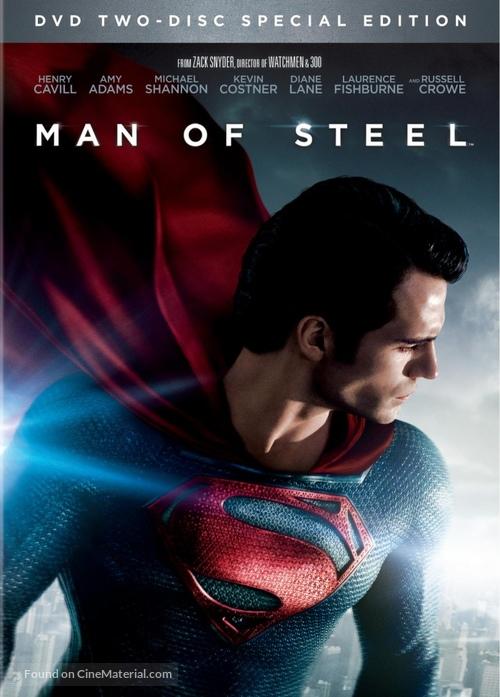 Man of Steel - DVD movie cover