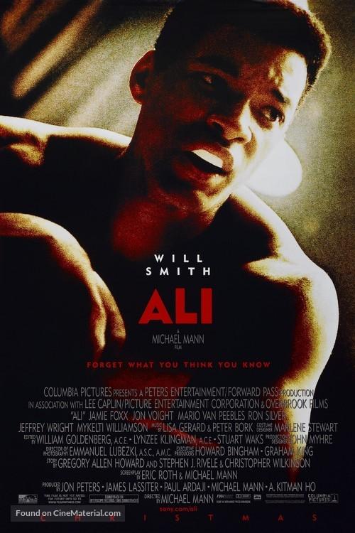 Ali - Movie Poster