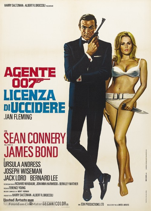 Dr. No - Italian Movie Poster
