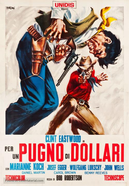 Per un pugno di dollari - Italian Movie Poster