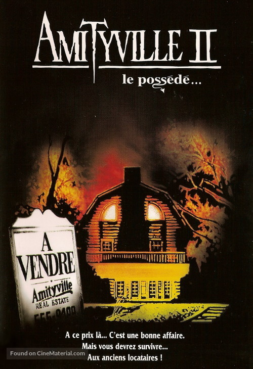 Amityville II: The Possession - French Movie Cover