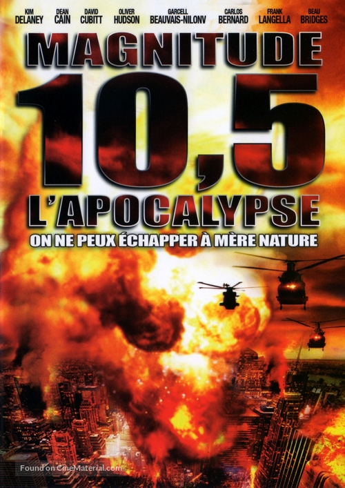 10.5: Apocalypse - Canadian Movie Cover