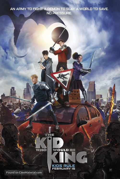 The Kid Who Would Be King - British Movie Poster