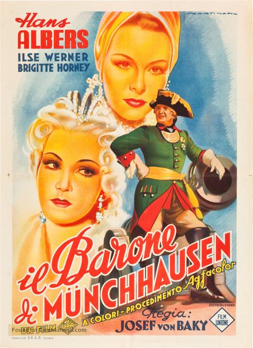 Münchhausen - Italian Movie Poster