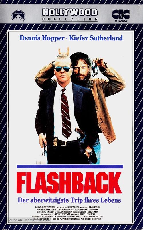 Flashback - German VHS cover