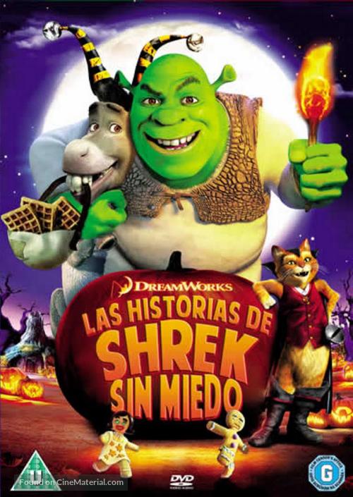 Scared Shrekless - Portuguese Movie Cover