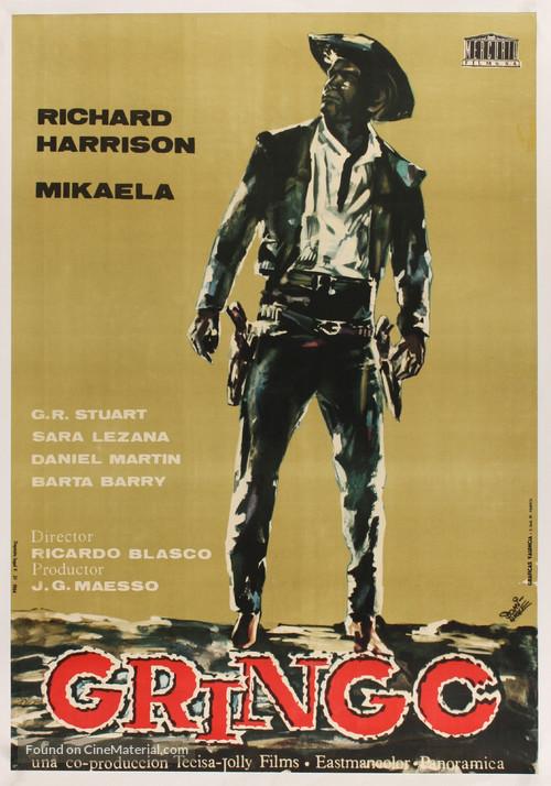 Duello nel Texas - Spanish Movie Poster