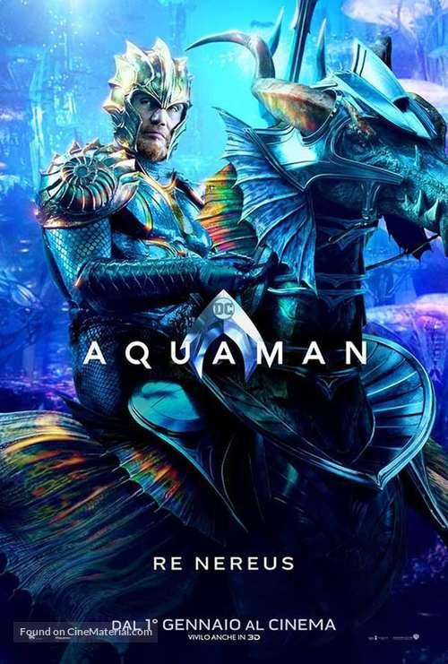 Aquaman - Italian Movie Poster