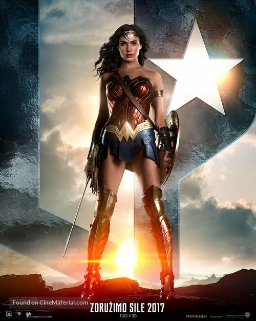 Justice League - Slovenian Movie Poster