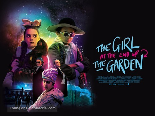 The Girl at the End of the Garden - Irish Movie Poster