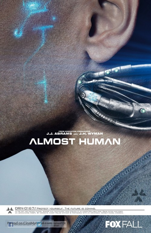"""Almost Human"" - Movie Poster"