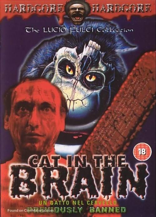 Un gatto nel cervello - British DVD cover