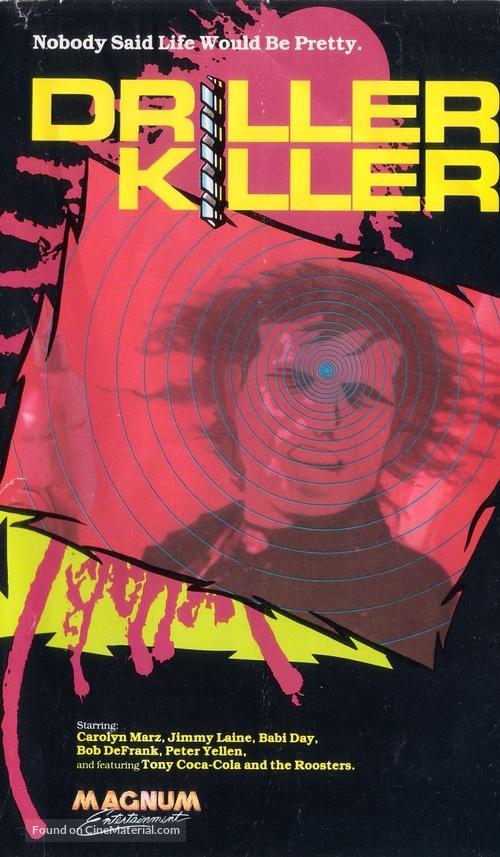 The Driller Killer - VHS cover
