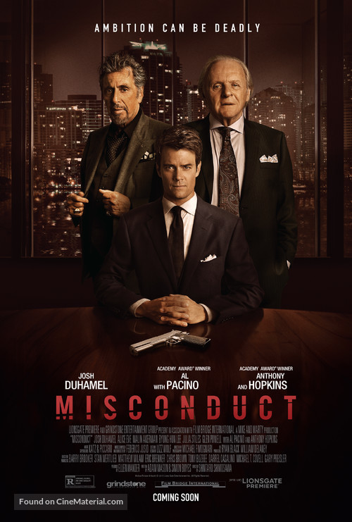 Misconduct - Movie Poster