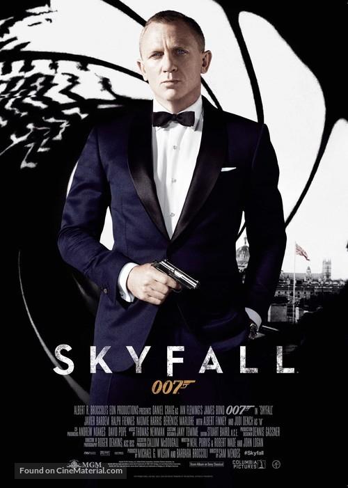 Skyfall - Swedish Movie Poster