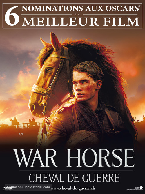 War Horse - Swiss Movie Poster