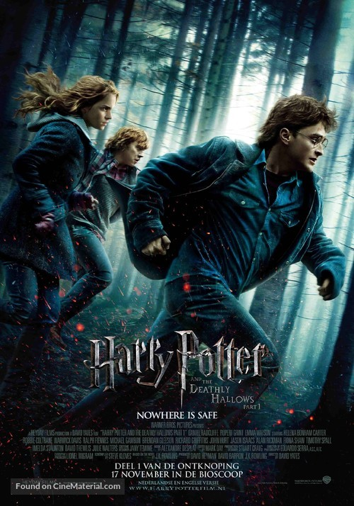 Harry Potter and the Deathly Hallows: Part I - Dutch Movie Poster