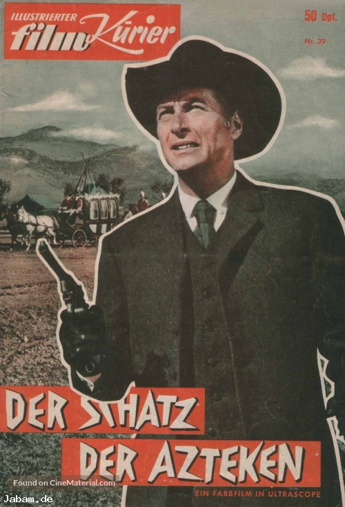 Der Schatz der Azteken - German Movie Poster