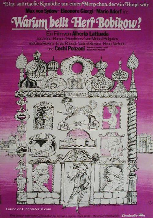 Cuore di cane - German Movie Poster