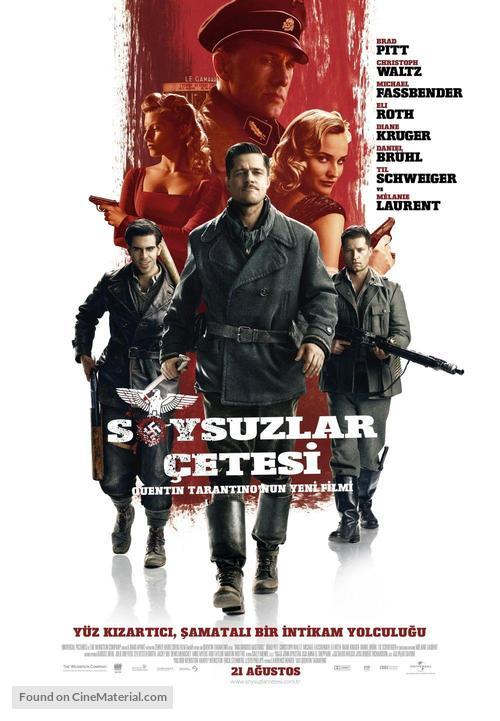 Inglourious Basterds - Turkish Movie Poster