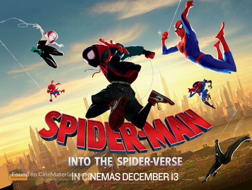 Spider-Man: Into the Spider-Verse - Australian Movie Poster