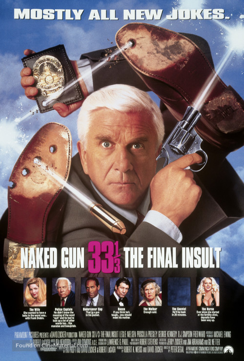 Naked Gun 33 1/3: The Final Insult - Movie Poster