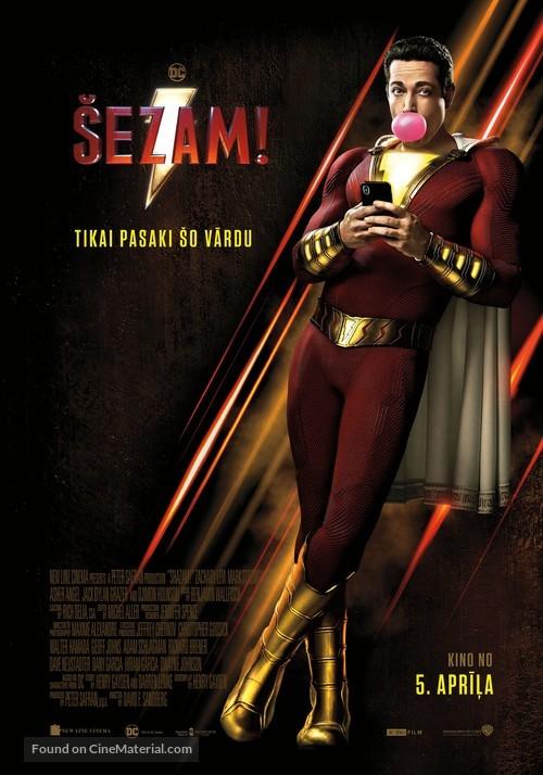 Shazam! - Latvian Movie Poster
