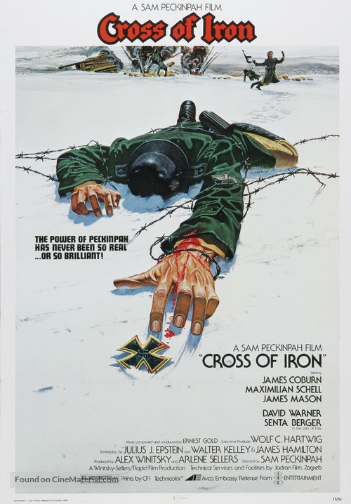 Cross of Iron - Movie Poster