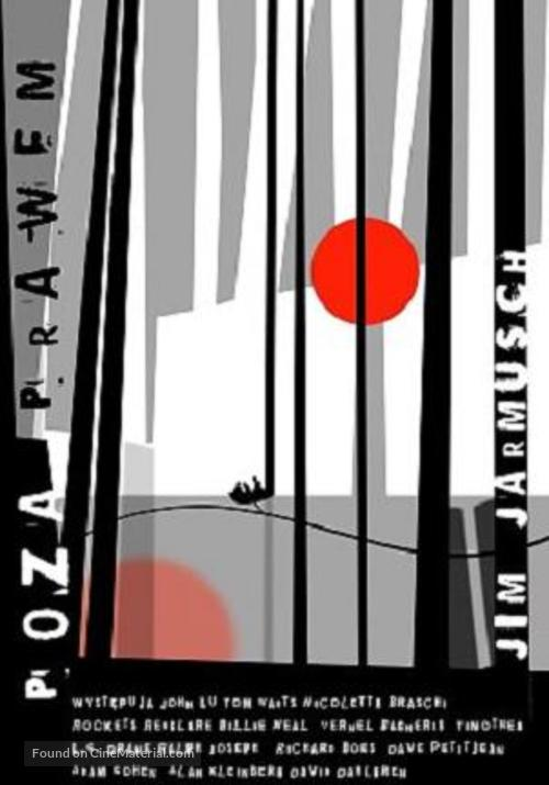 Down by Law - Polish Movie Poster