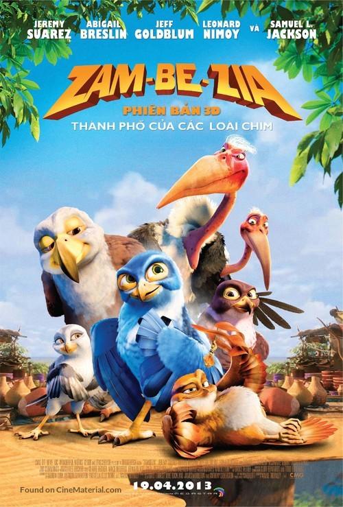 Zambezia - Vietnamese Movie Poster