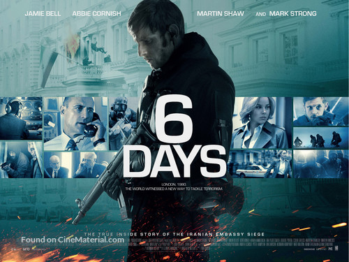 6 Days - British Movie Poster