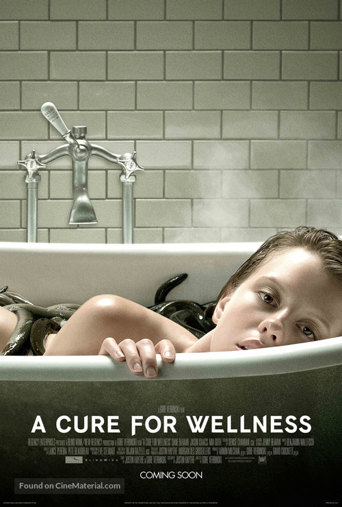 A Cure for Wellness - British Movie Poster