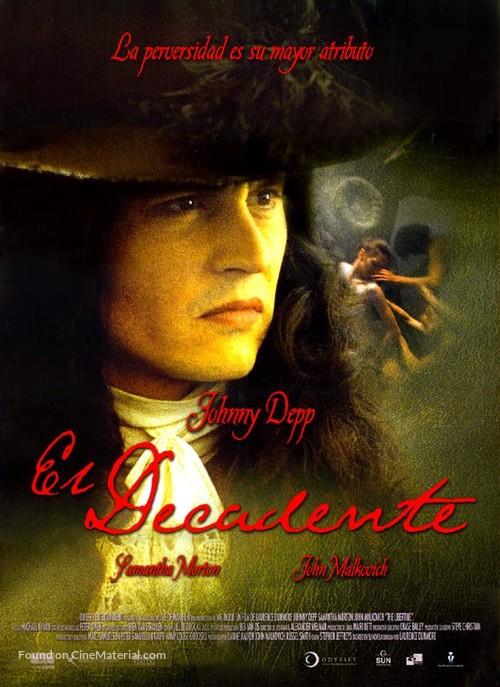 The Libertine - Spanish Movie Poster