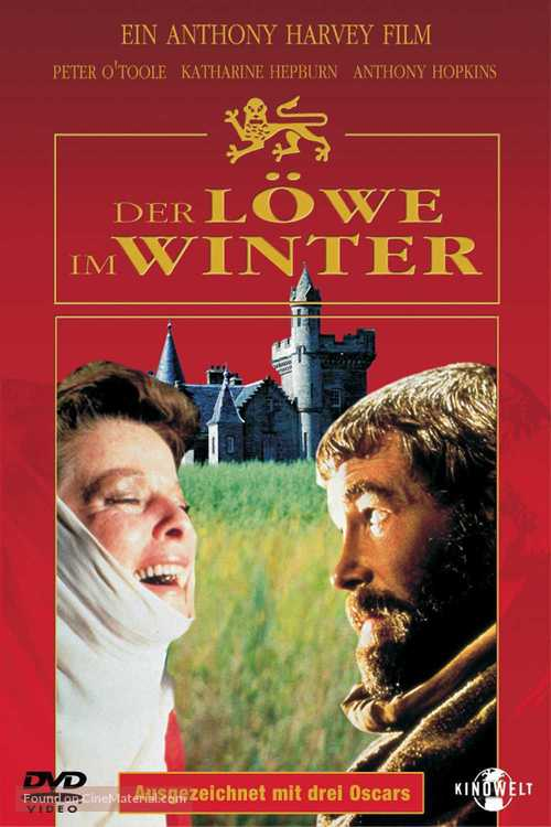 The Lion in Winter - German DVD cover
