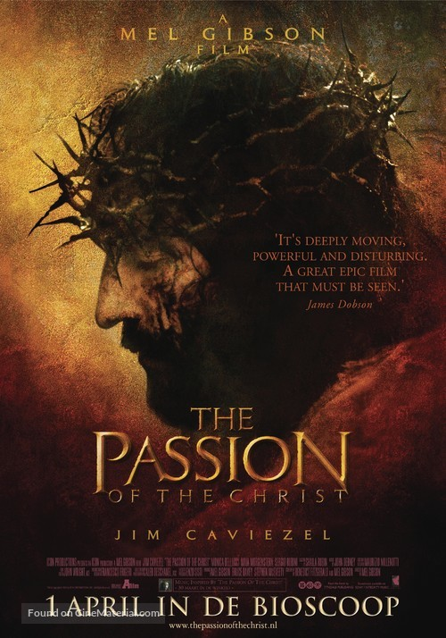 The Passion of the Christ - Dutch Movie Poster