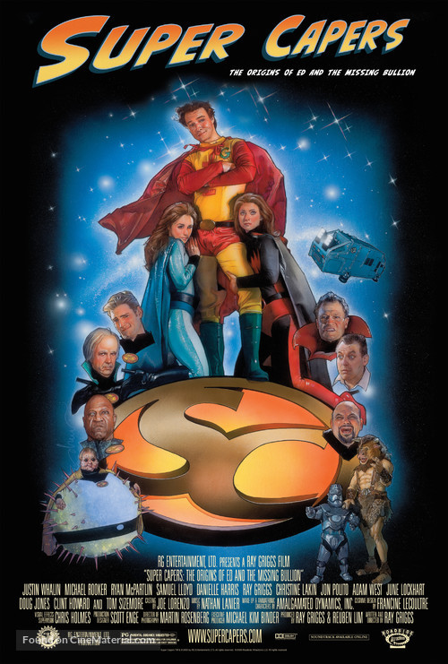 Super Capers - Movie Poster
