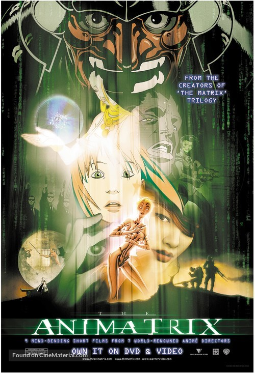 The Animatrix - Movie Poster