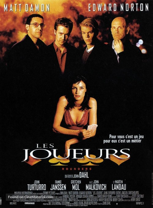 Rounders - French Movie Poster