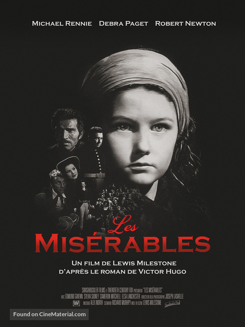 Les miserables - French Movie Poster