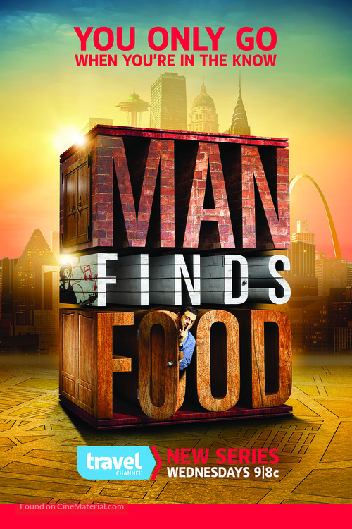 """""""Man Finds Food"""" - Movie Poster"""