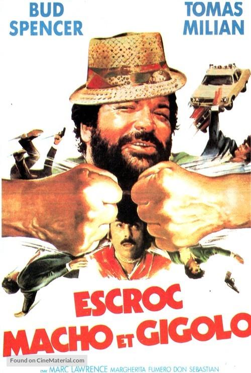 Cane E Gatto French Movie Poster