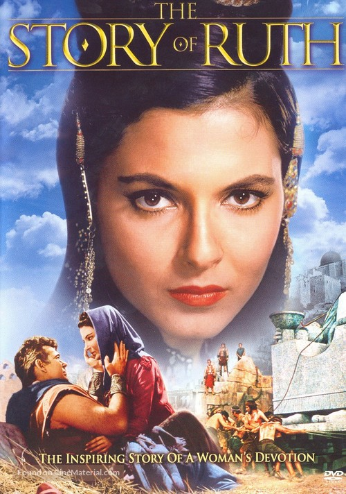 The Story of Ruth - DVD movie cover