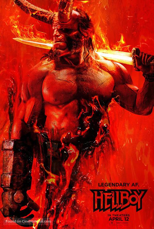 Hellboy - Teaser poster