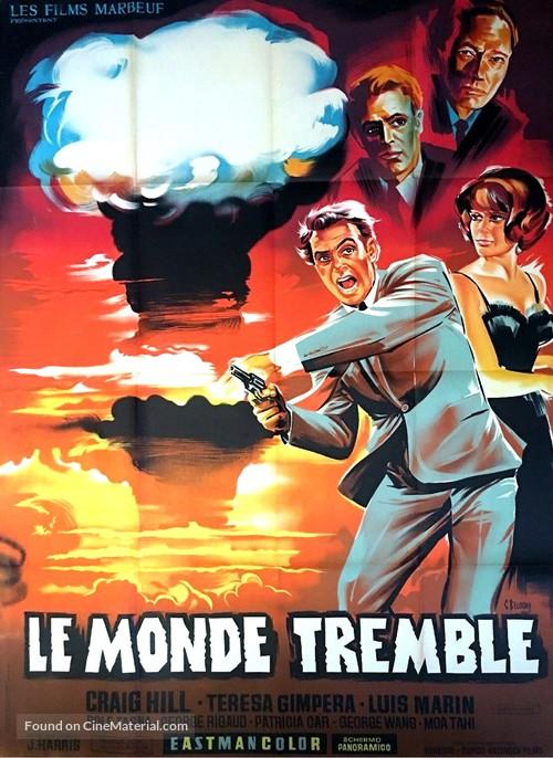 Black Box Affair - Il mondo trema - French Movie Poster